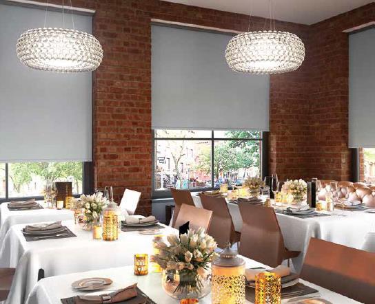 Mera Window Fashions Inc Inspiration Seasons Roll Shades